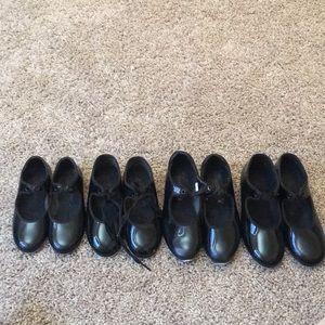 Black Patent Tap Shoes